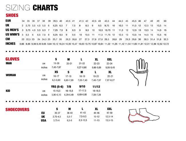 Northwave Size Guide Sportpursuit Com