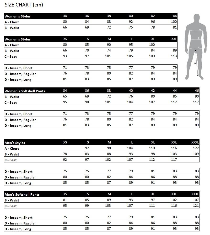 Haglofs Shoes Size Guide