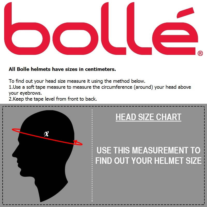 Bolle size guide