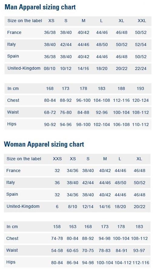 Le Coq Sportif Shoe Size Guide