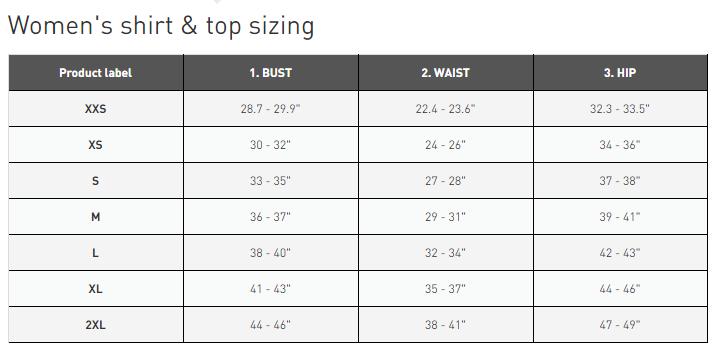 Reebok Size Chart In Cm 63 Off Pramdragerfesten Dk